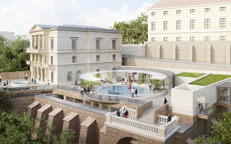 Hamarosan befejeződik az Ybl Villa épületének megújítása