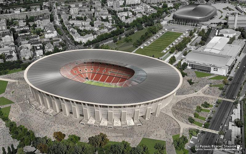 Orbán Viktor irányítja a Puskás Stadion építését