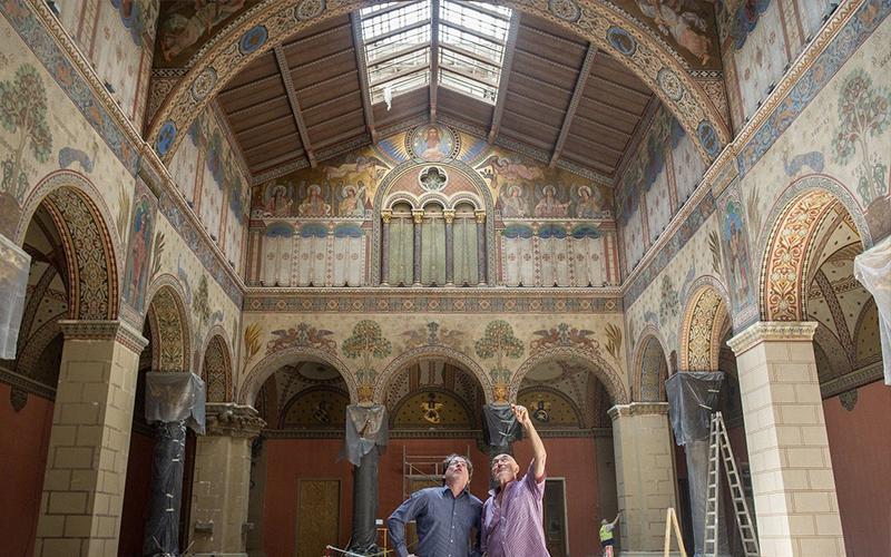 70 évig elzárták a közönség elől – régi pompájához közelít a Szépművészeti Román Csarnoka