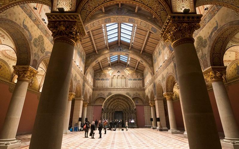 Márciusban megnyílik a Szépművészeti Román csarnoka