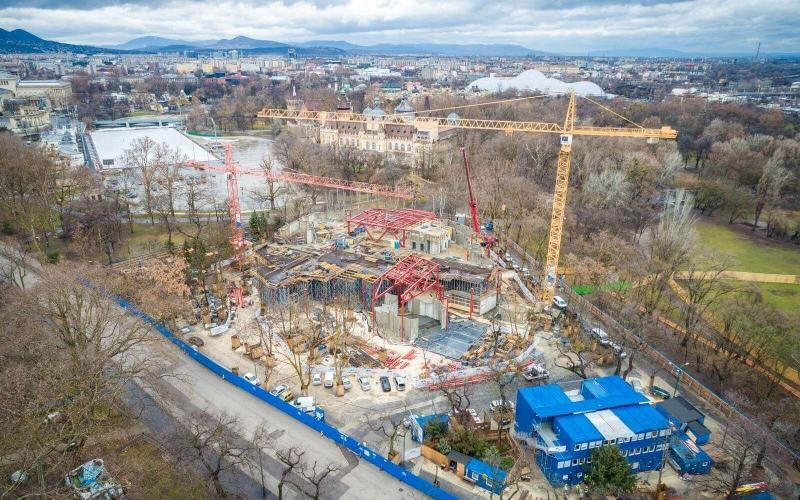 Még idén szerkezetkész lesz a Magyar Zene Háza - galéria