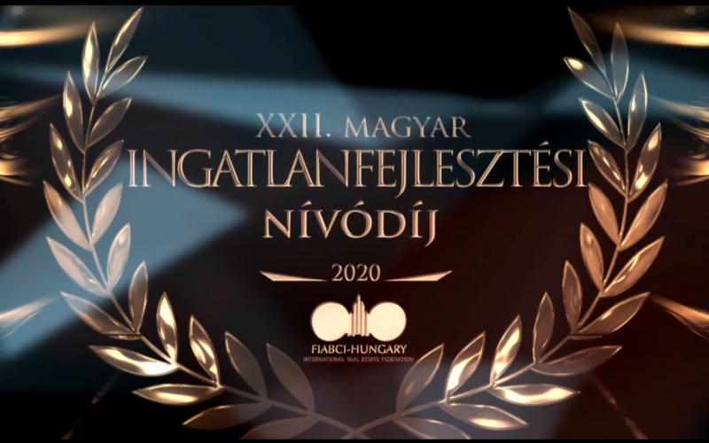 Megszületett a XXII. Magyar Ingatlanfejlesztési Nívódíj Pályázat eredménye