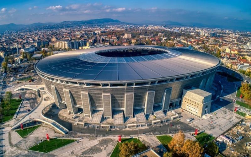 A legszebb létesítményként aratott nemzetközi sikert a Puskás Aréna