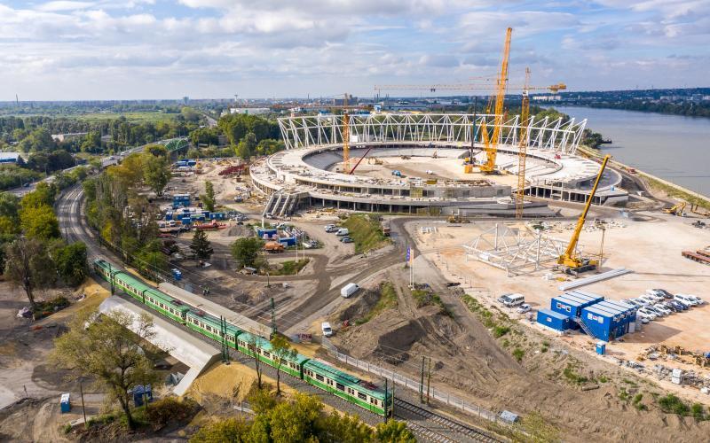 Újabb mérföldkőhöz érkezett a Nemzeti Atlétikai Stadion építése